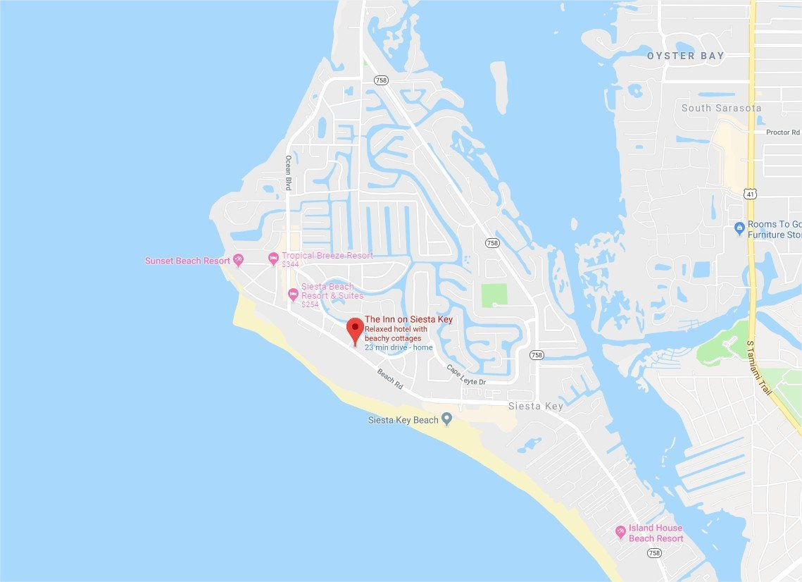 The Inn on Siesta Key - Google Maps - Google Chrome