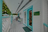 The Cabana, Entrance