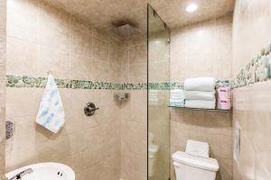 The Cabana, Bathroom with Shower
