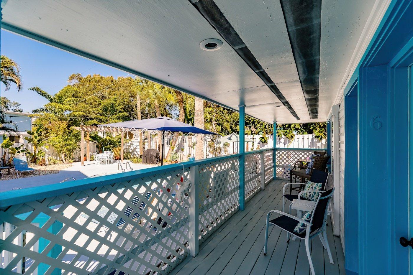 The Cabana, Patio and Pool