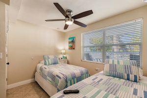The Cabana, Twin Bedroom 3