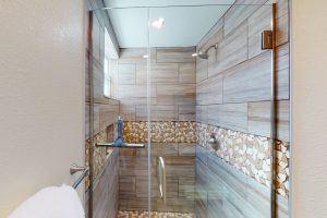 The Cottage, King Bedroom Shower