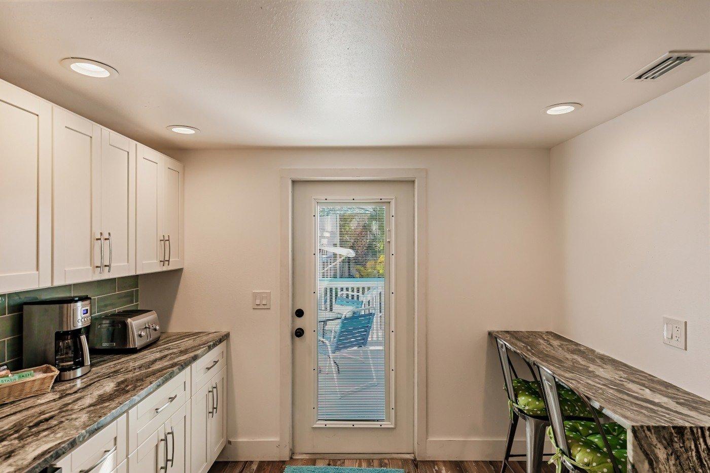 The Cottage, Kitchen Door
