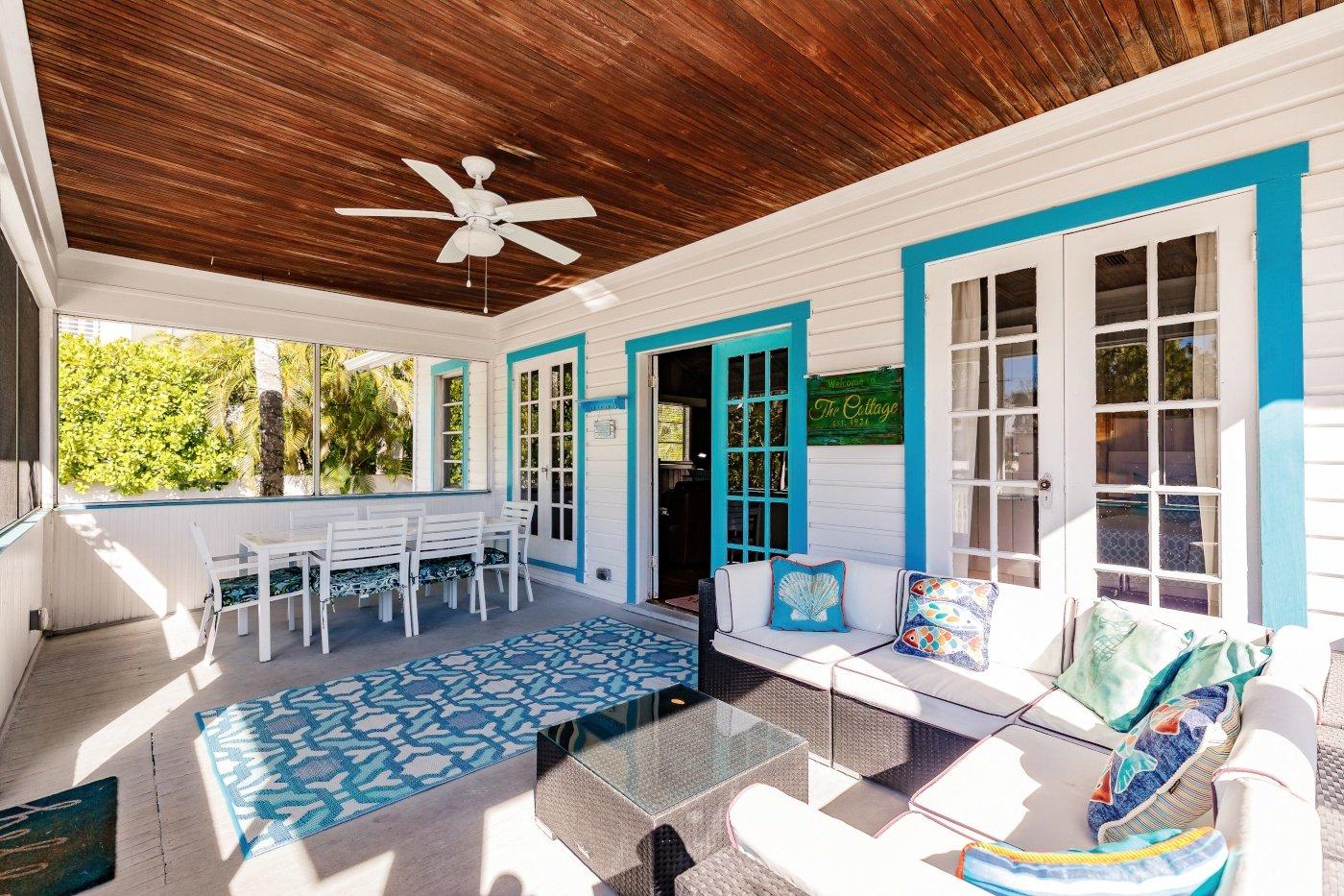 The Cottage, Porch 3